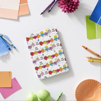 Cubierta Para iPad Mini Sr. Men y pequeña Srta. el   todo en una fila