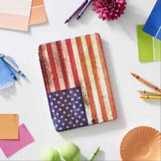 Cubierta Para iPad Pro Bandera americana anticuada
