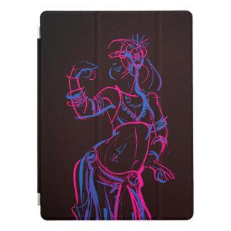 Cubierta Para iPad Pro Bellydancer tribal de la fusión del dibujo de