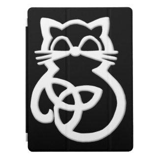 Cubierta Para iPad Pro Caso céltico del iPad de Apple del gato del nudo