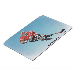 Cubierta Para iPad Pro Cubierta del iPad del diseño del jugador de hockey