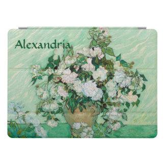 Cubierta Para iPad Pro El florero de Van Gogh con el vintage rosado de