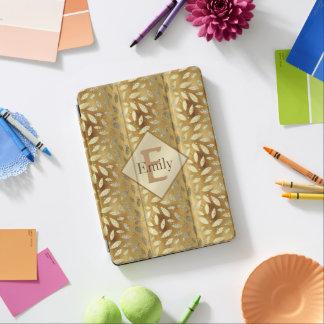 Cubierta Para iPad Pro El oro elegante y brillante sale iPad de la