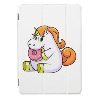 Cubierta Para iPad Pro El unicornio que come el buñuelo embroma el caso