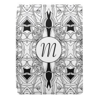 Cubierta Para iPad Pro Ilustraciones blancos y negros modernas con el