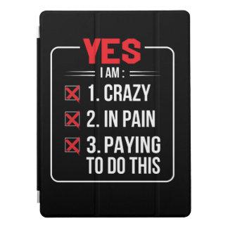 Cubierta Para iPad Pro Im loco en el dolor que paga hacer Krav Maga