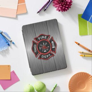 Cubierta Para iPad Pro Insignia del bombero de lujo