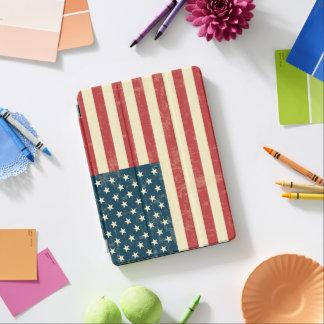Cubierta Para iPad Pro La bandera americana envejecida se descoloró