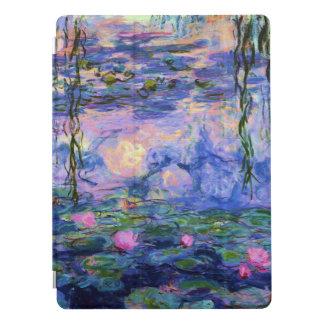 Cubierta Para iPad Pro Lirios de agua de Monet con reflexiones de la