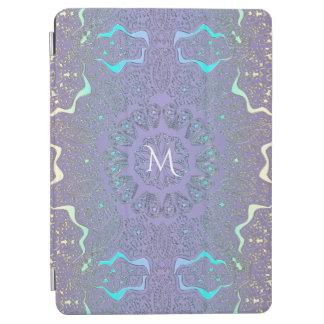 Cubierta Para iPad Pro Mandala en colores pastel del monograma del cordón