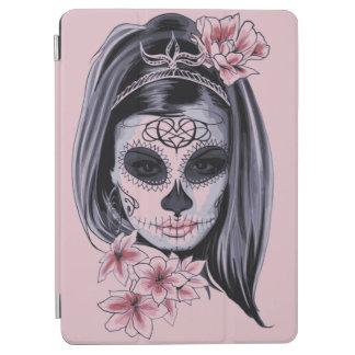 Cubierta Para iPad Pro Máscara del esqueleto de la mujer