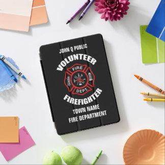 Cubierta Para iPad Pro Plantilla voluntaria del nombre del bombero