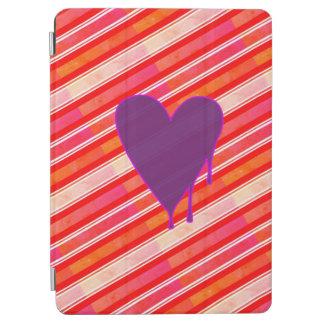 """Cubierta Para iPad Pro Púrpura de fusión 9,7"""" del corazón"""
