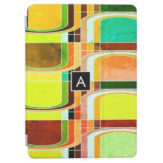 Cubierta Para iPad Pro Retro enrrollado colorido inspirado