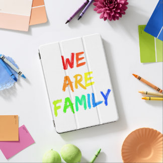 Cubierta Para iPad Pro Somos adopción del arco iris de la familia,
