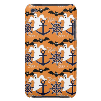 Cubierta Para iPod De Barely There Modelo náutico de Halloween