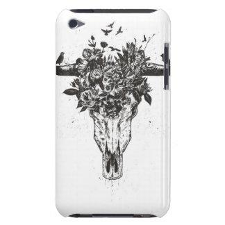 Cubierta Para iPod De Barely There Verano muerto (blanco y negro)