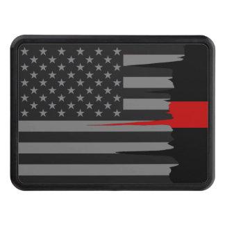 Cubierta Para Remolque Línea roja americana hecha andrajos tirón de la