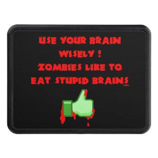 Cubierta Para Remolque Los zombis tienen gusto de cerebros estúpidos