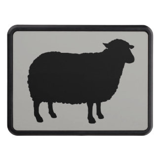 Cubierta Para Remolque Silueta de las ovejas negras