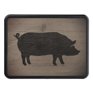 Cubierta Para Remolque Silueta del cerdo