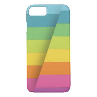 cubierta pelada colorida funda iPhone 7