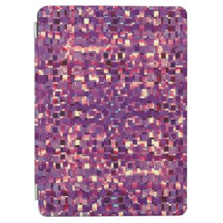 Cubierta púrpura de la tableta de Pixelated Cover De iPad Air