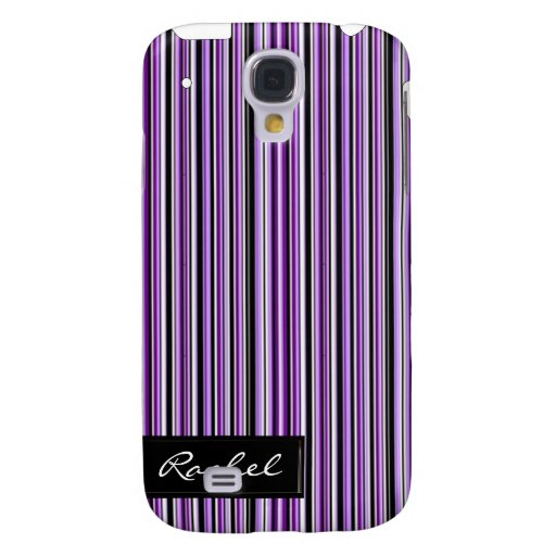 Cubierta púrpura del modelo iPhone3G de la raya de