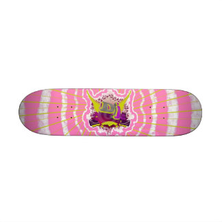 Cubierta rosada de DJ Patín