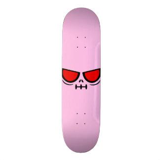 Cubierta rosada de GrimFace™ Bubblegum Patineta Personalizada