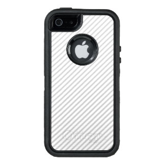 cubierta simple del iphone de la raya funda OtterBox defender para iPhone 5