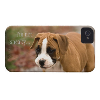 Cubierta sonriente de Iphone 4 del perro del Case-Mate iPhone 4 Funda