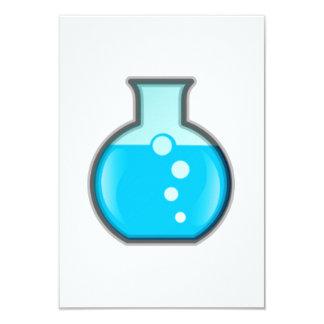 Cubilete de la ciencia de la química comunicado