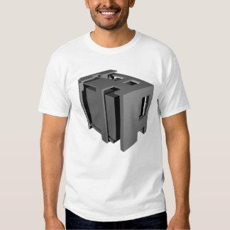 cubo 3D Camisetas