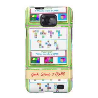 CUBO de la calle 7 del FRIKI: Lecciones del arte d Galaxy S2 Carcasas