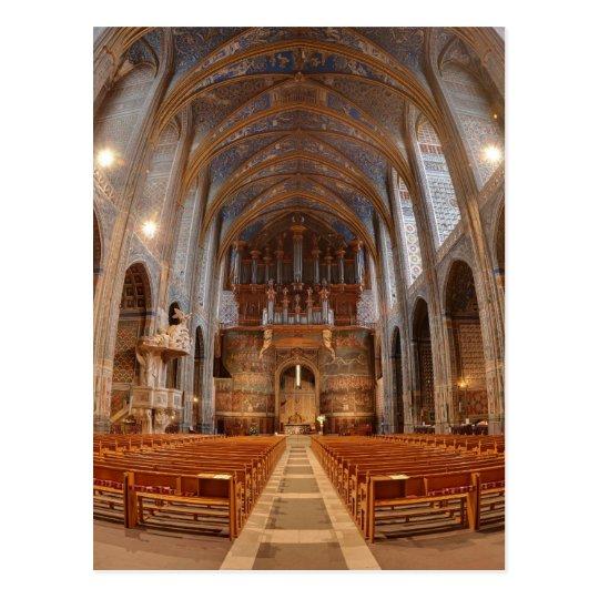 Cubo de la catedral de Albi Postal
