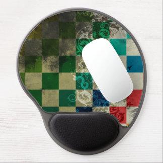 cubos coloridos con arte del vector del remolino alfombrilla con gel