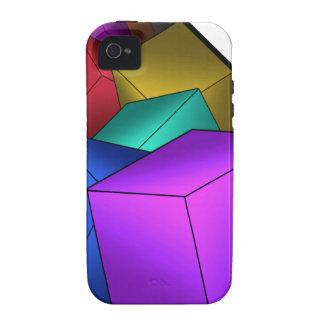 Cubos Vibe iPhone 4 Carcasas