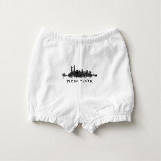 Cubrepañal New York Dark-White Skyline v07