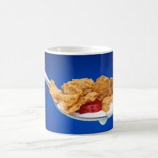 Cucharada de cereal tazas