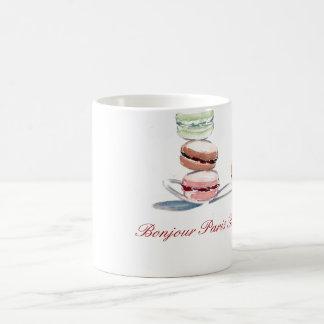 Cucharada de la taza de Macarons