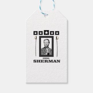 cuchilla doble Sherman cw Etiquetas Para Regalos