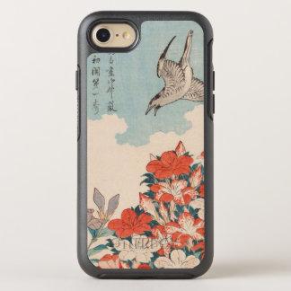 Cuco de Hokusai y vintage GalleryHD de las azaleas Funda OtterBox Symmetry Para iPhone 7