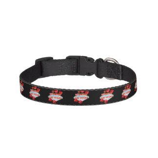 Cuello afortunado del mascota de Las Vegas Collar Para Mascotas