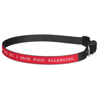 Cuello alerta médico del mascota de la seguridad collares de perro