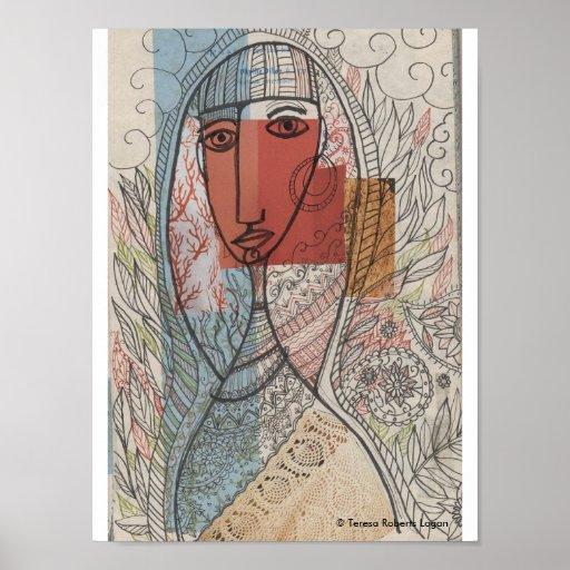 Cuello Crocheted Posters