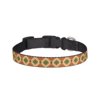 Cuello de perro con diseño azteca collar de perro