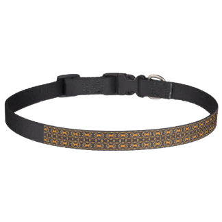 Cuello de perro de Brown y del naranja - alrededor Collar Para Mascotas