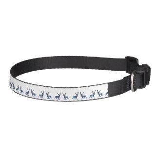 Cuello de perro de la nieve del invierno del reno collar para mascotas