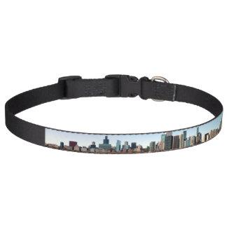 Cuello de perro del horizonte de Chicago Collar Para Mascotas